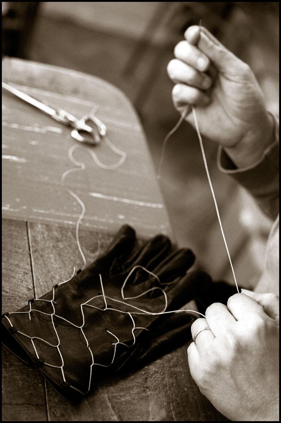 Saint-Junien (87) : les ateliers de la ganterie Agnelle