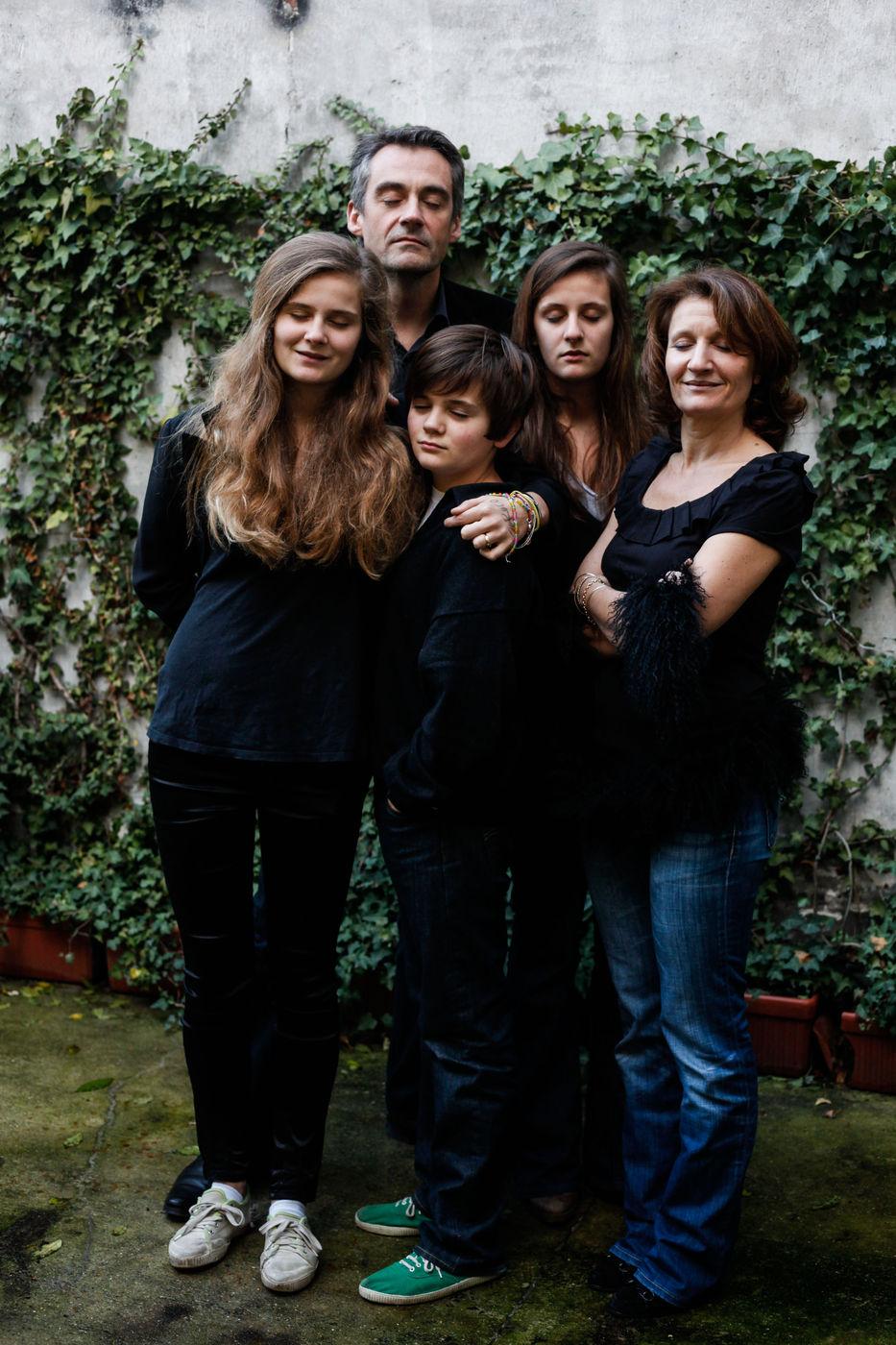 Mariés, trois enfants.