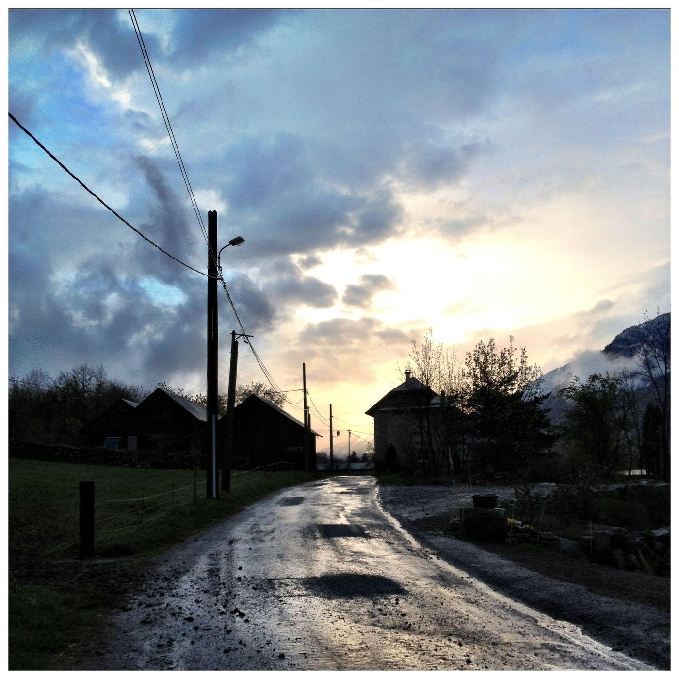France. Savoie. Village.